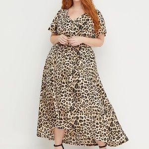 Lane Bryant x Beauticurve animal print maxi dress